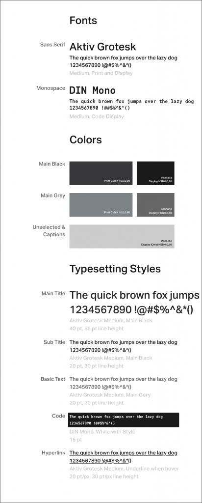 品牌设计与网站设计——串接印刷品与数字出版